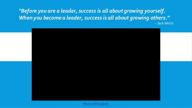 """Before you are a leader, success is all about growing yourself. When you become a leader, success is all about growing ot..."