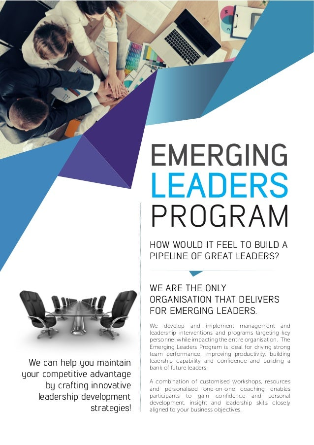 emerging leaders program by leadershiphq