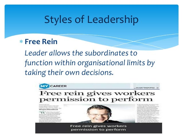 review of leadership styles Six leadership styles are common in most businesses and have an effect on office morale and productivity.