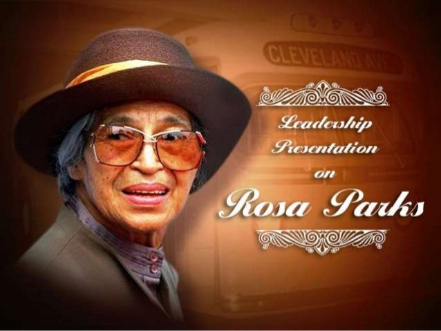 transformational leader rosa parks Assistant transformational leader -- scott, start and woodward learning communities scott: glenwood, old west end, pickett academy, rosa parks, ella p stewart academy for girls, martin luther king, jr academy for boys and robinson.