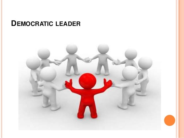 Democratic leadership essays