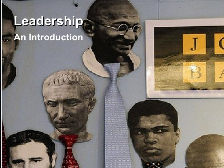 Leadership An Introduction