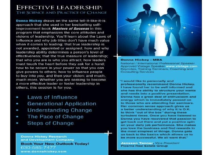 New Seminar and Keynote
