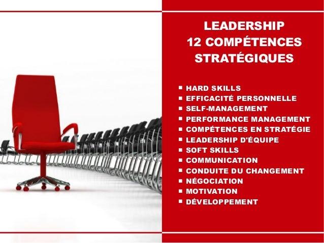Leadership : 12 Compétences Stratégiques Slide 2