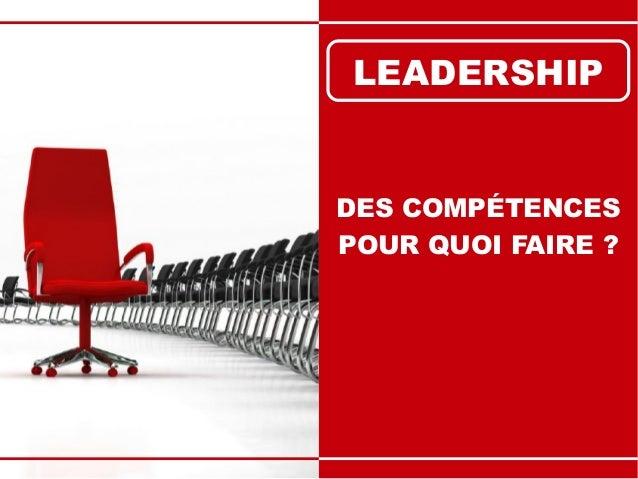 Leadership : 12 Compétences Stratégiques Slide 3
