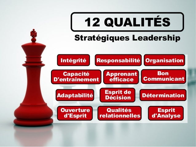 leadership  12 qualit u00e9s essentielles