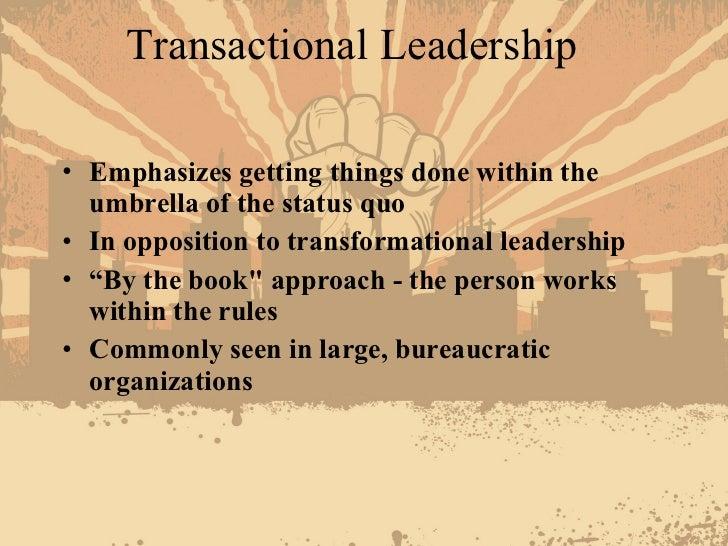 example of leadership