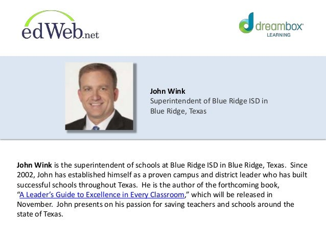 6. John Wink ...