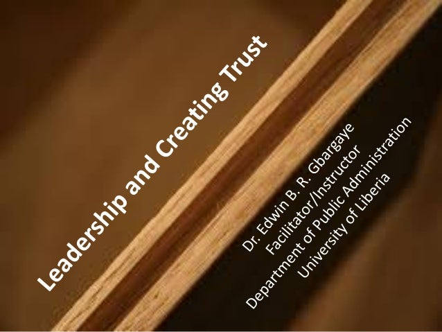 • It has been accepted as a truism that good leadership is essential to businesses, to government, and to the countless gr...