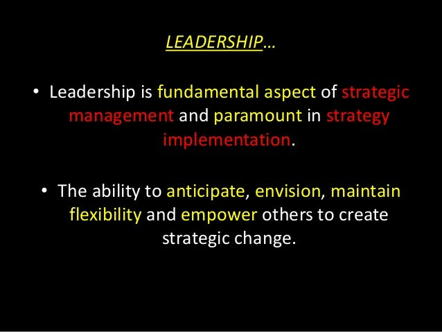 Leadership and culture ppt