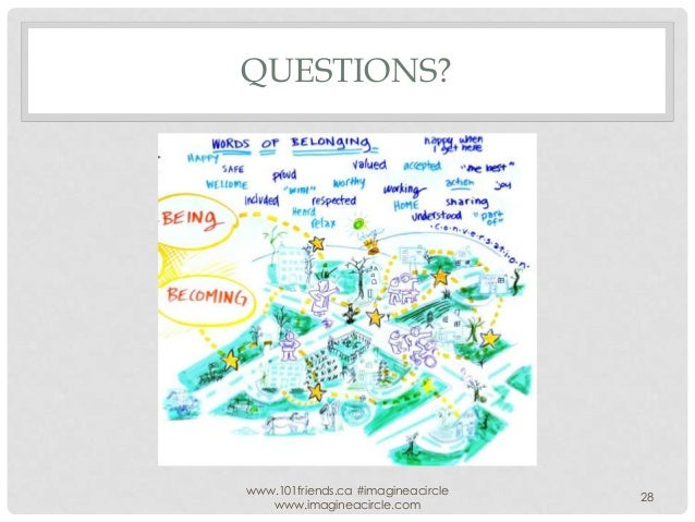 QUESTIONS?  www.101friends.ca #imagineacircle www.imagineacircle.com  28