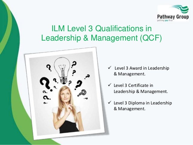 ilm 3 Ilm level 3 sample material for organisations ac 21 leadership and management.