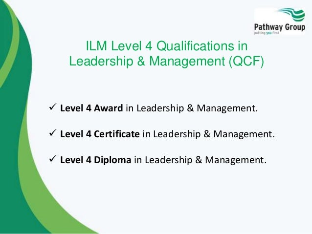 Ilm leadership and management