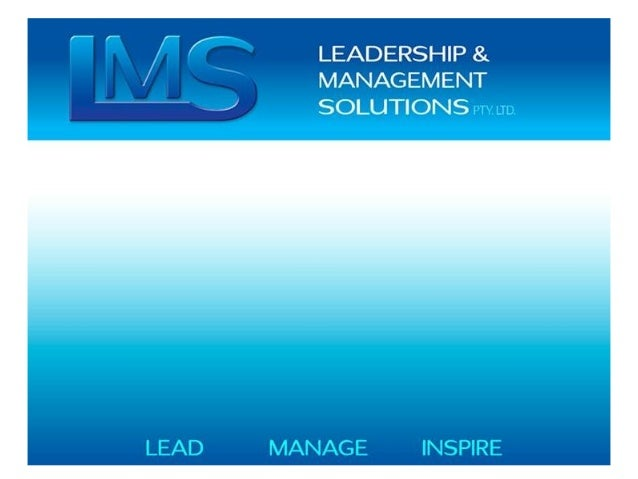 About Us Leadership and Management Solutions (LMS) provides results driven improvement , enhanced productivity of your org...