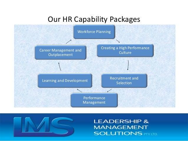 Human Resource Capability