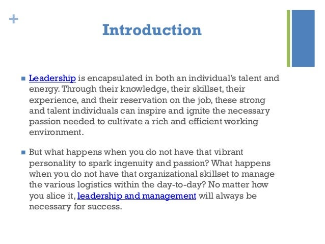 Leadership and Management, Two Sides of the Same Coin by Sarang Ahuja Slide 2