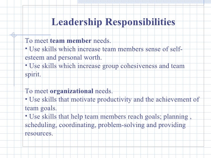 team skills essay Skills and must have qualities of a team member skills and must have qualities of a team member teams are formed when individuals with a similar interest, taste, need and even attitude work together to achieve a common goal conflicts must be avoided among the team members so that they are able to concentrate on their work and do.