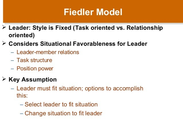 situational leadership theory hersey and b lanchard questionnaire The situational leadership model (adapted from the model by ken blanchard and paul hersey in management of organizational behavior, '96) the situational leadership model suggests that there is no one size fits all appr oach.