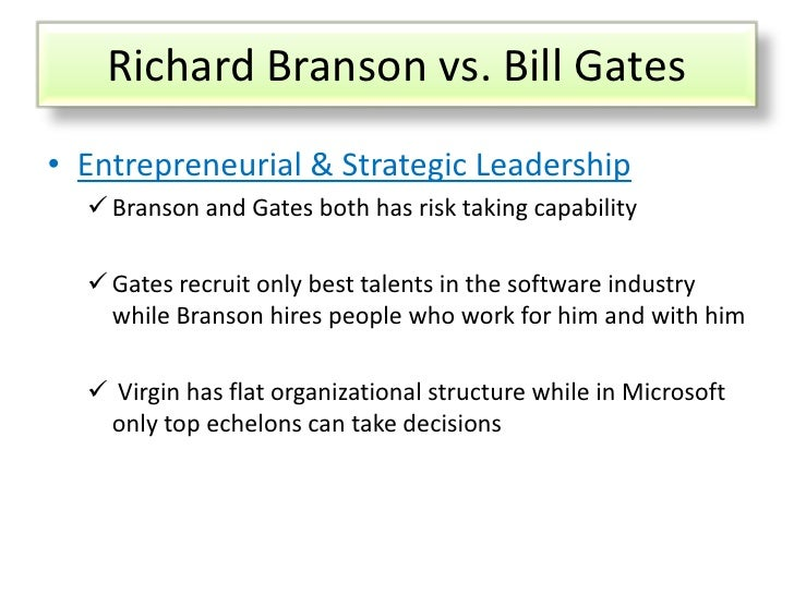 richard branson and level 5 leadership Leadership of richard branson using the internet or strayer university databases, research the leadership style and characteristics of richard branson, virgin group.
