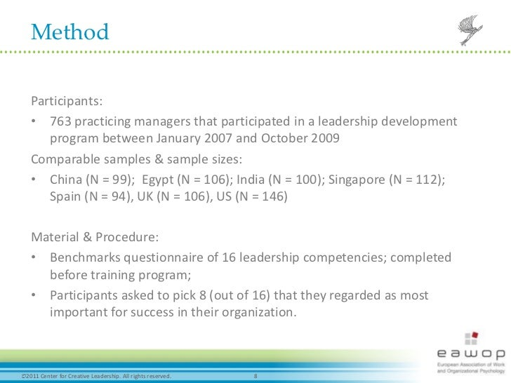 leadership competencies and attitudes for success in globalization Make the most of global development assignments too few international assignments result in better leadership here's a model for how to better develop global leadership skills and maximize.