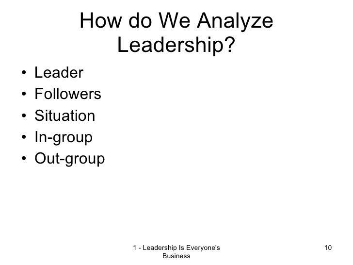 Leadership concepts 2009 everyones business 10 fandeluxe Gallery