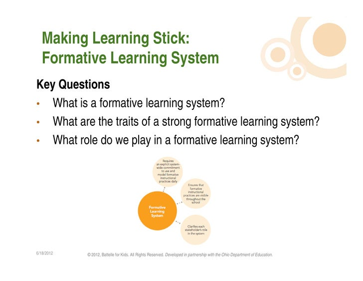 Leading Formative Instructional Practices