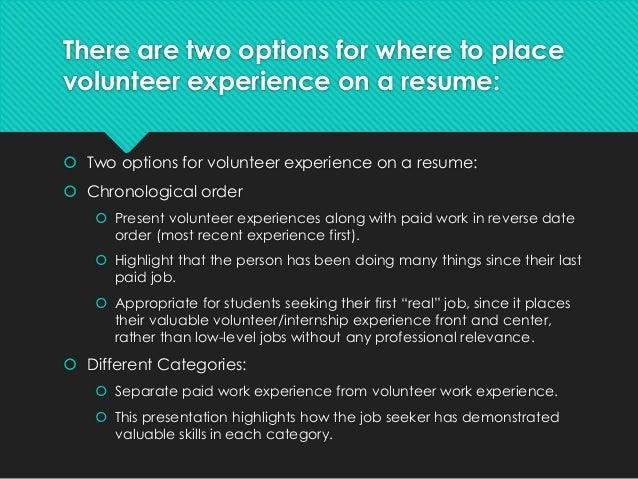 Career Skills Presentation