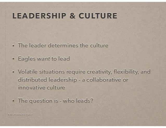 Leadership Culture Model