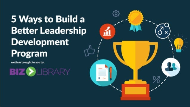What are the primary of objectives of your leadership development program??