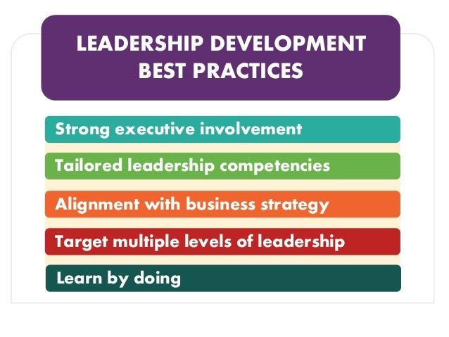 5 Ways To Build A Better Leadership Development Program Webinar 12