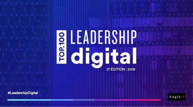 #LeadershipDigital#LeadershipDigital 2E ÉDITION : 2019