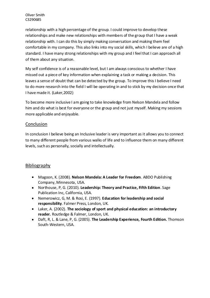 Strong leader essay