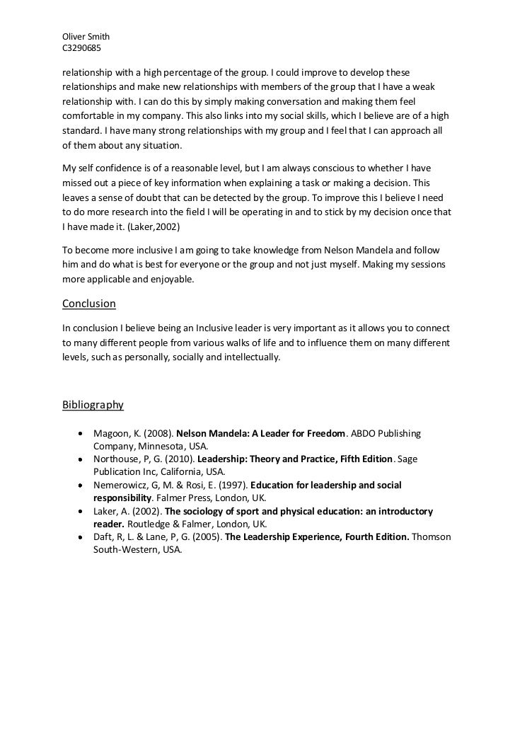 essay on leadership Reflective essay on educational leadership issues - ed491 (2013) university of the south pacific [usp], fiji islands quality education delivery what does quality mean in the context of education.