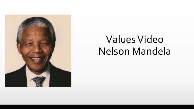 ValuesVideo Nelson Mandela