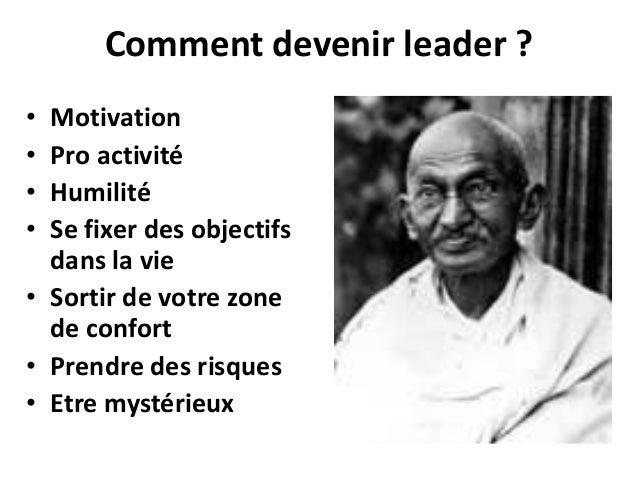 Leadership Et Développement Personnel