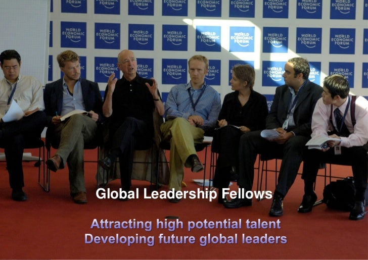 wef global leadership fellows essay