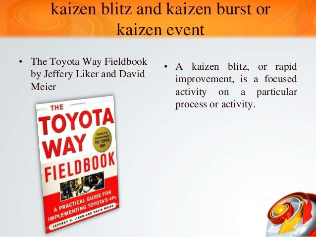 A Plan for a Five-day Kaizen