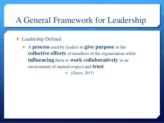 8 Dimensions of Leadership Overview