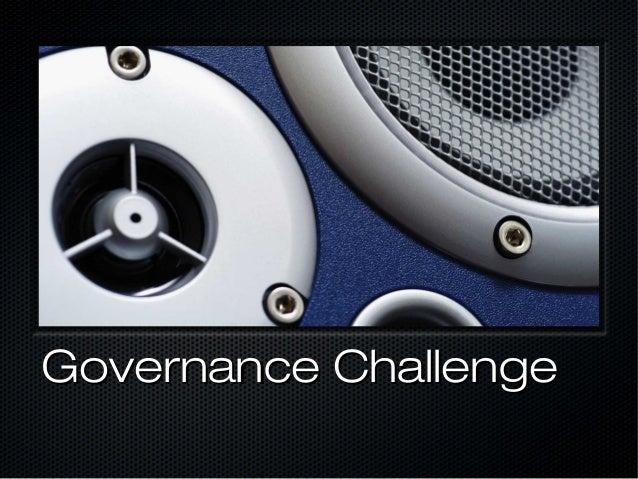 Governance Challenge