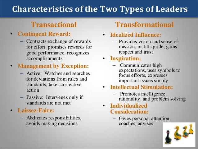 Leadership in organizational management