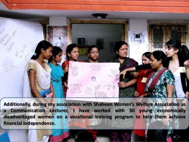 Essay on women and child welfare