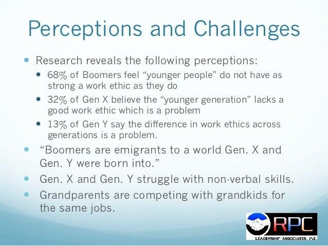 generation y work ethic