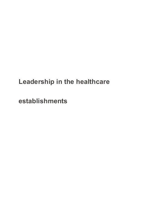 Leadership essay health visiting