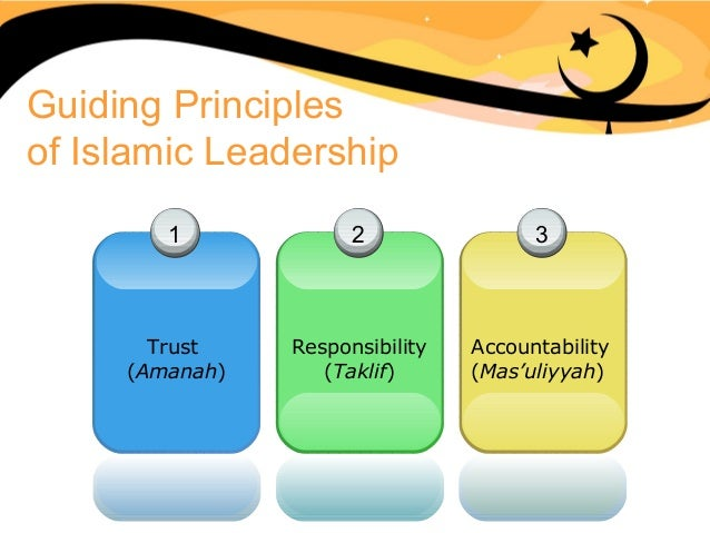 islamic leadership Sequence : sequence prevailing of concept of leadership defining leadership leadership qualities psycho-social approach islamic concept of a leader basic attributes of a muslim taqwa.