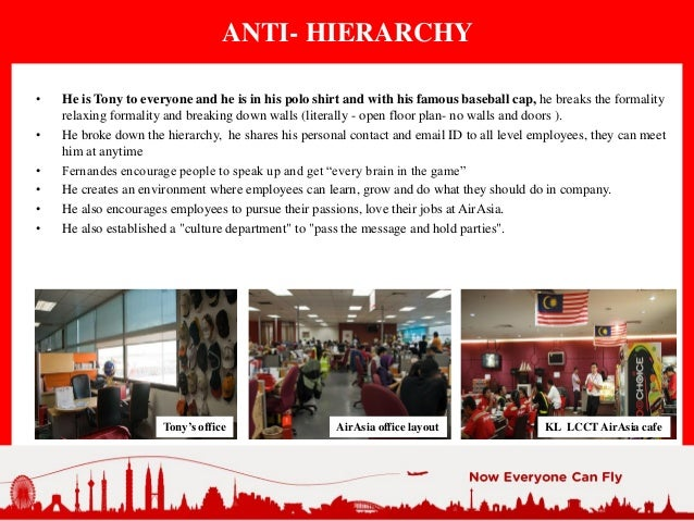 """""""anti hierarchy"""" environment in an organization Free essay: do you think it's possible for an organization to deliberately create an  """"anti-hierarchy"""" to encourage employees to engage in acts of."""