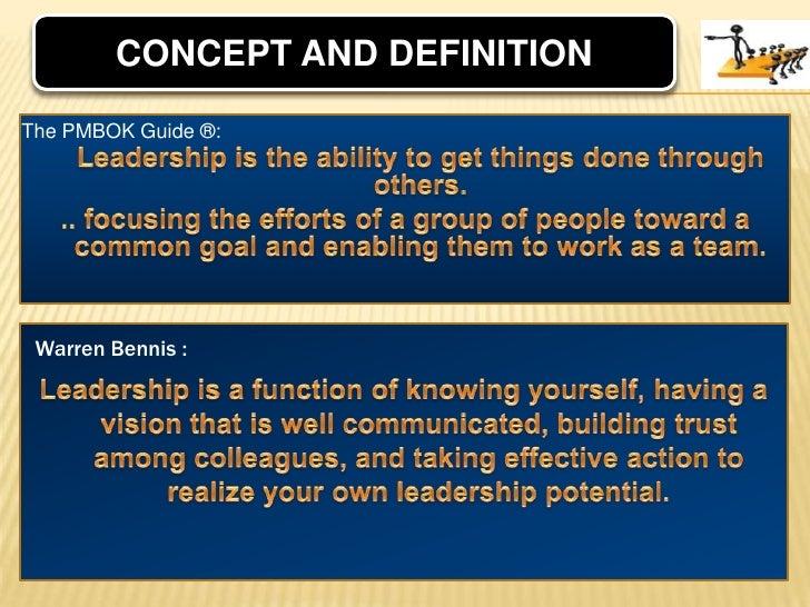 definitions of leadership pdf