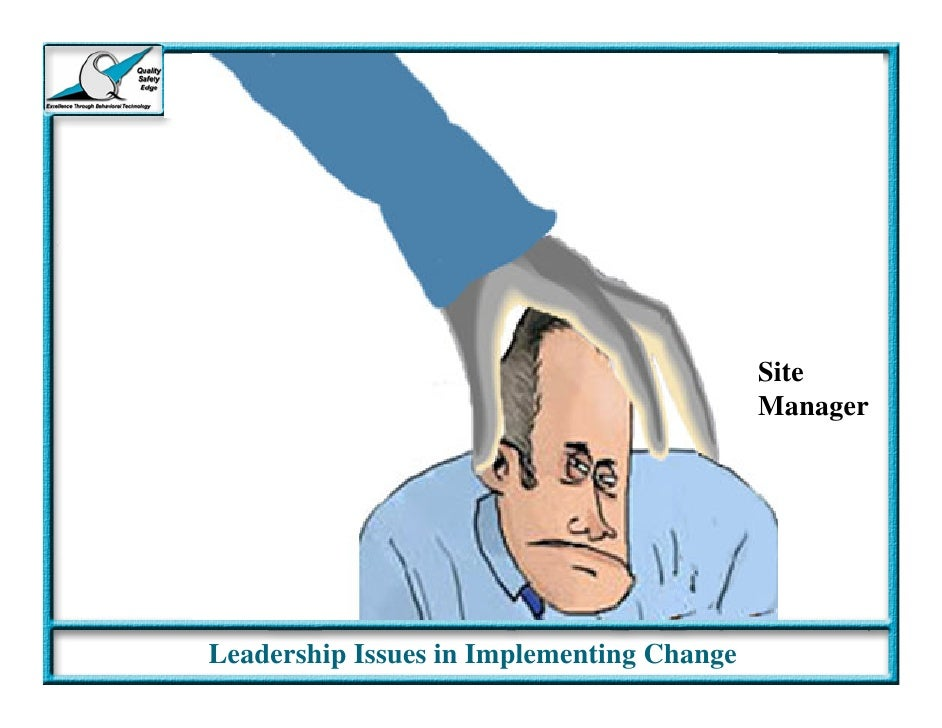 implementing change Wondering how to implement a successful change program check these 3 tips to effectively implement and manage a change program.