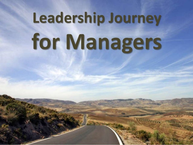 Leadership Journey for Managers