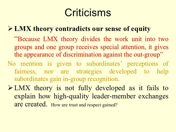 a followership approach to leader member exchange quality Approach on motives and interpersonal motive constellations   leader and of  the follower predict lmx quality and work-related outcome variables of leaders.