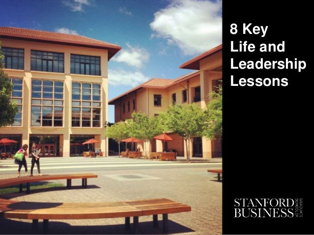 8 Key Life and Leadership Lessons